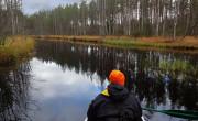 Canoeing Jongunjoki river