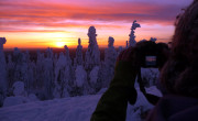 Sunset at Koli National Park