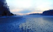 november frosty morning