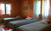 A bedroom in the ground floor