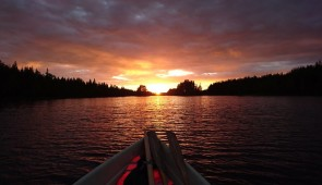 """White nights"" rowing excursion"